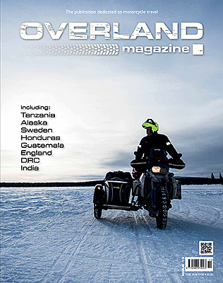 Overland magazine front cover 13