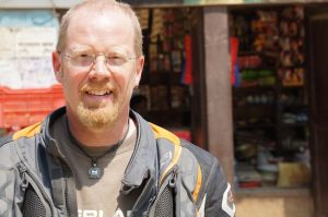Paddy Tyson in Nepal sm