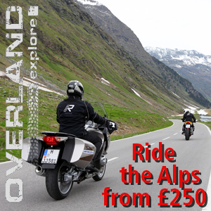 Ride what you want in the Alps