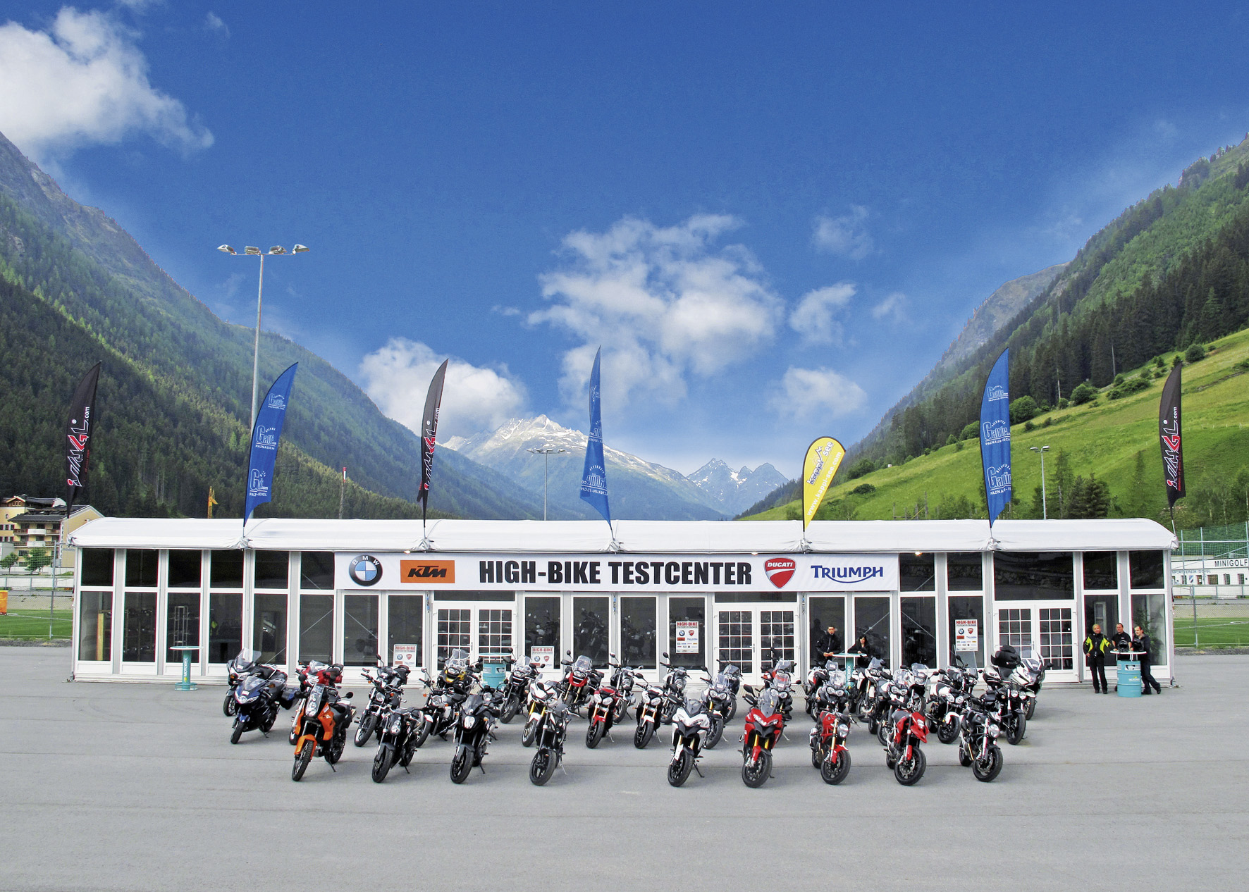 Ischgl's motorbike test centre opens from this weekend