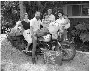 Ding Peterboro and Val Teddington 1955
