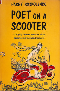 Poet on a scooter