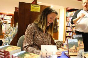 Antonia signing