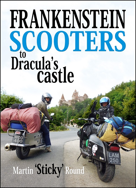 'Frankenstein scooters to Dracula's castle' by Martin 'Sticky' Round