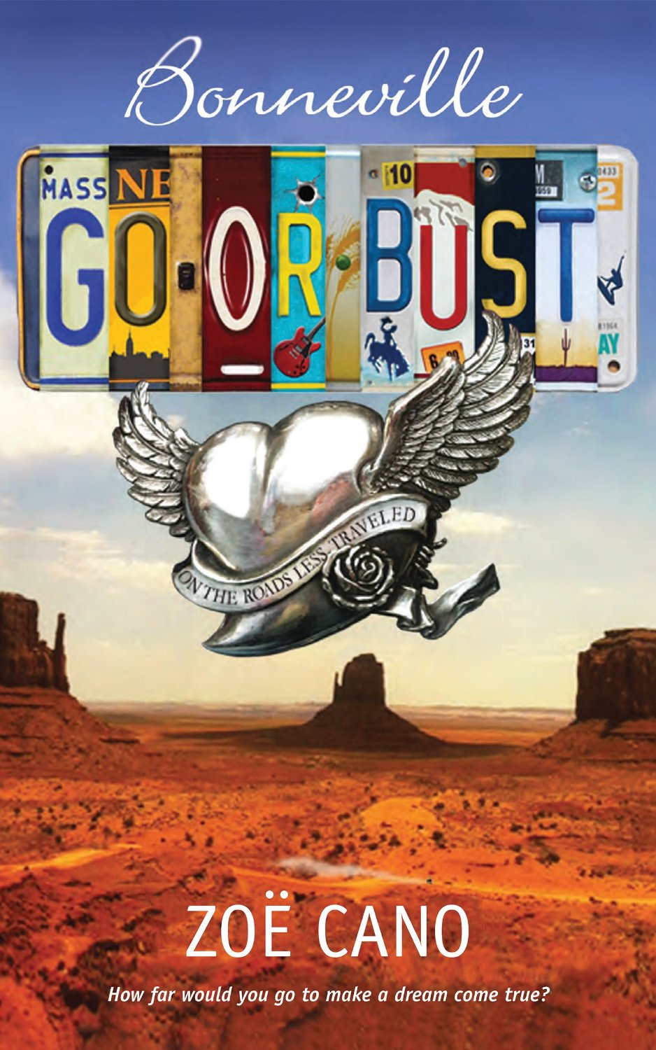 'Bonneville Go or Bust – on the roads less travelled' by Zoe Cano