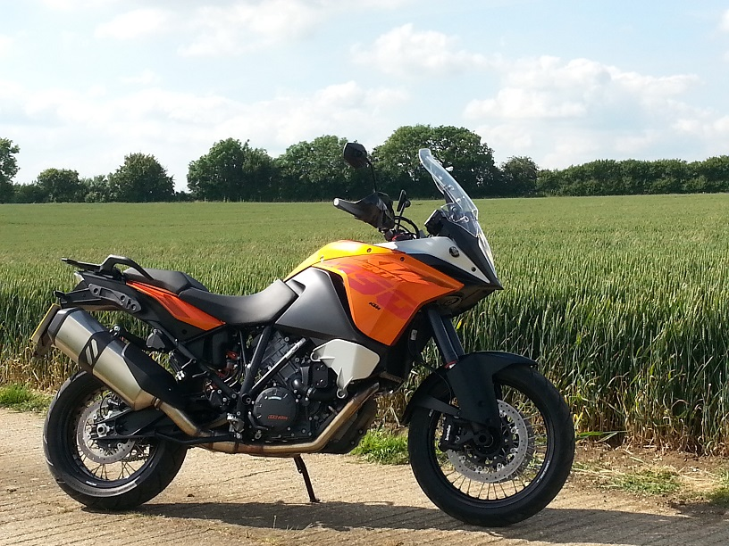KTM Adventure recall for ABS