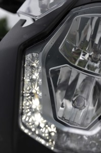 KTM1190 Adventure light detail
