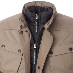 Tucano Urbano Giacca Trip - Sand - Inner Jacket Close-up