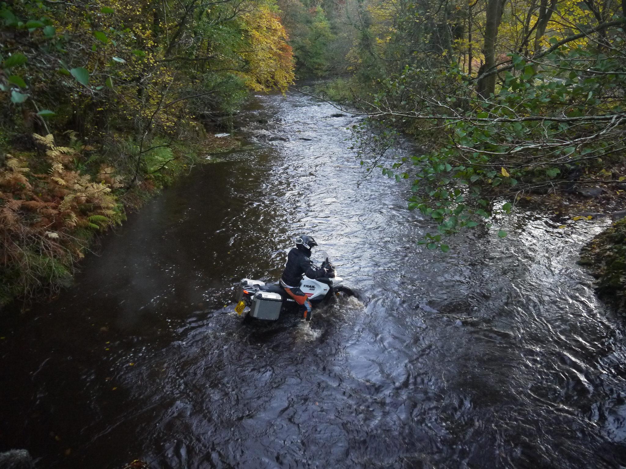 Overland magazine WK400 Trail river crossing Noel Thom