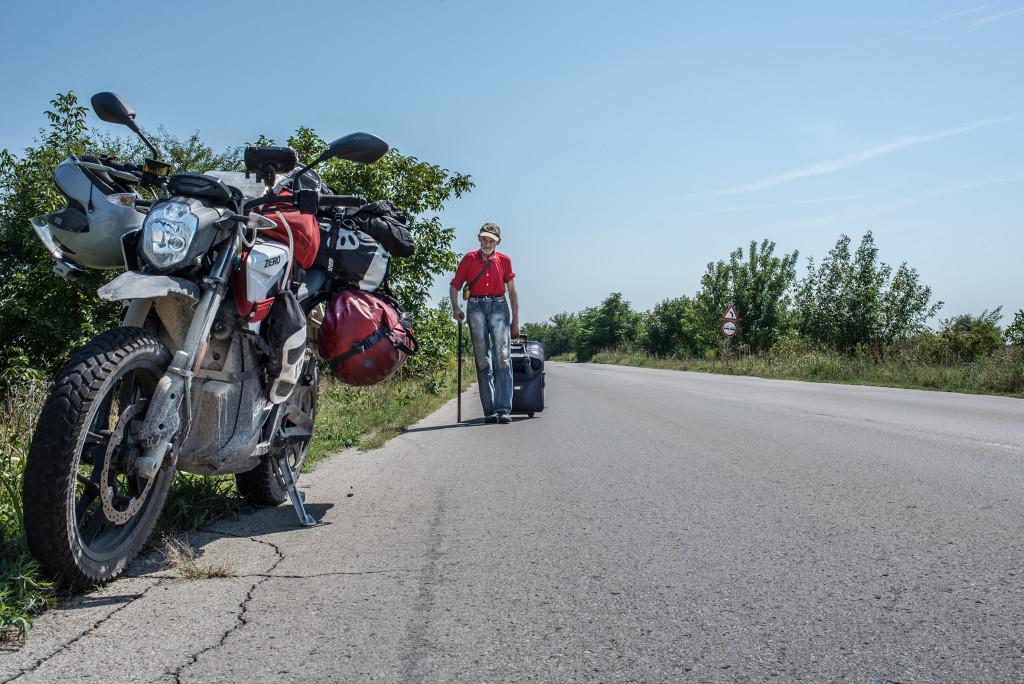 walking local-Turkey Overland