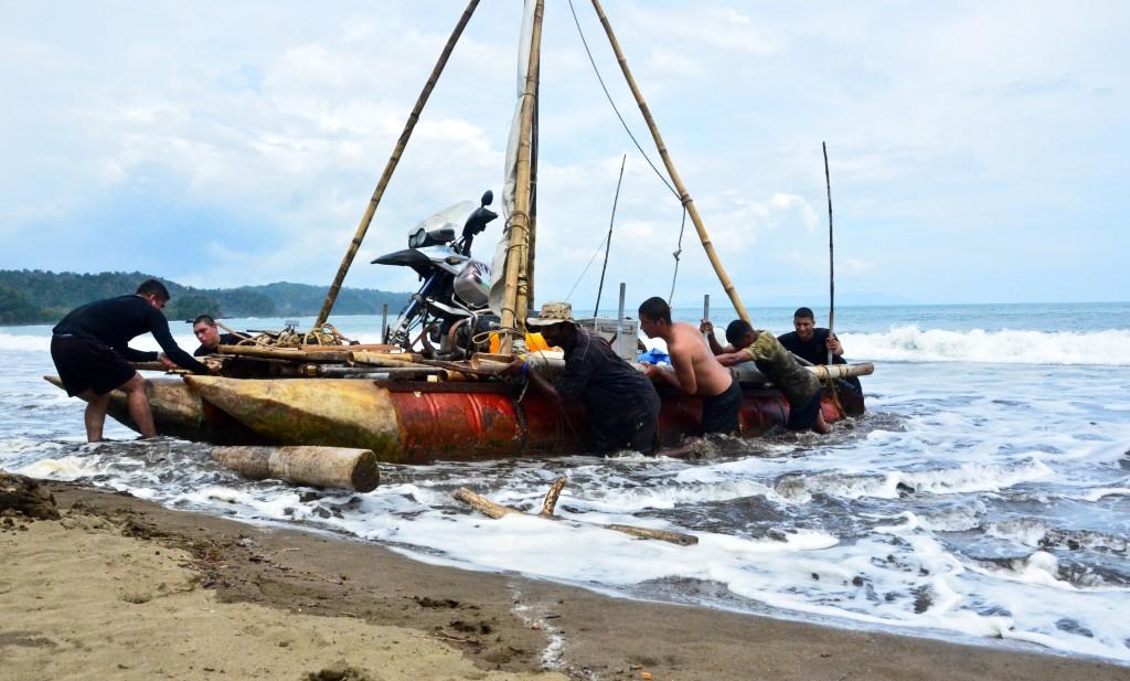 Dylan Samarawickrama comes ashore