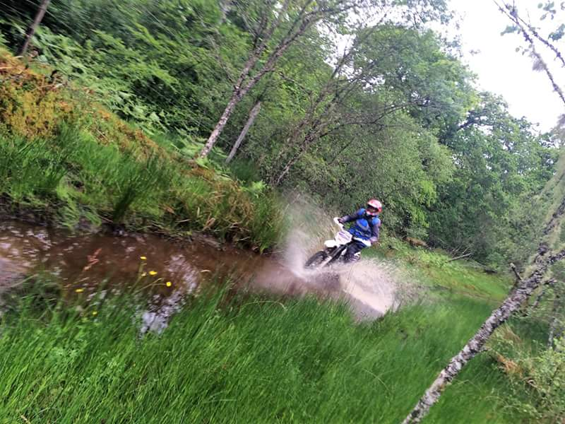 Jenny Cook Overland magazine riding trails with Motoscotland