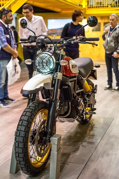 eicma overland mag Ducati Scrambler Desert Sled
