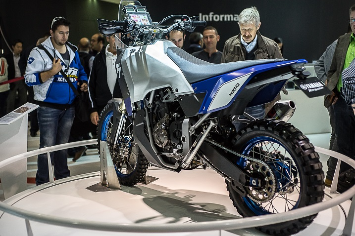 eicma overland mag Yamaha T7 rear