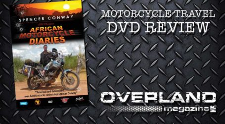 'African Motorcycle Diaries' by Spencer Conway DVD