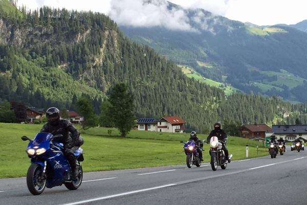 Motorcycle tours with MCi