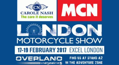 Visit Overland Magazine at the MCN London Show