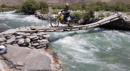 Keith Riehl rides Tajikistan