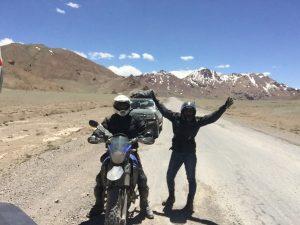 Happy riders at Alichur