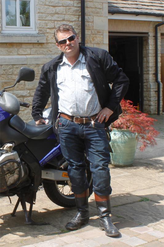 ARMR Moto M789 CE Armoured Mens Aramid Motorcycle Bike Jeans Blue Regular