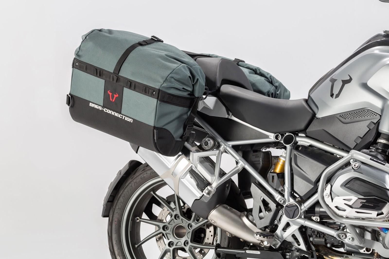 New SW-Motech soft, waterproof 'Dakar' panniers