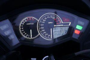 CFMoto 650 clocks