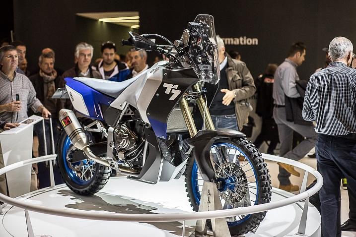 eicma overland mag Yamaha T7 prototype
