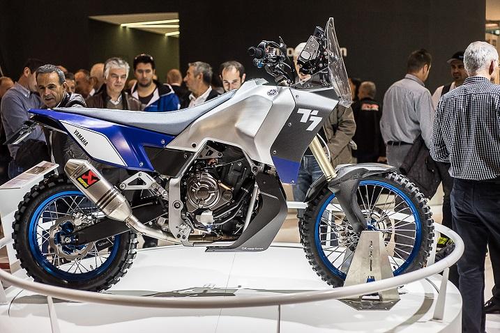 eicma overland mag Yamaha T7