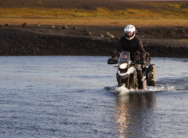 Iceland river crossing