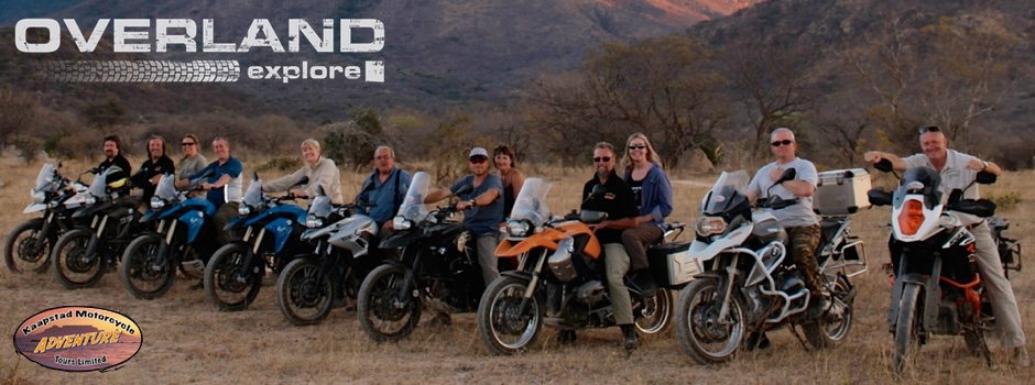OVERLAND Explore 3 Countries Africa Ride