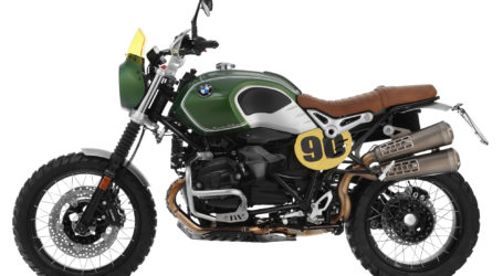 ISDT inspiration for BMW R nineT